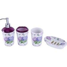 Helenie 4-Piece Bathroom Accessory Set