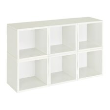Daniell Stackable and Modular Organizer 26 Cube Unit Bookcase (Set of 6) by Mercury Row
