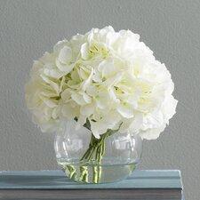 White Hydrangea Floral Arrangements
