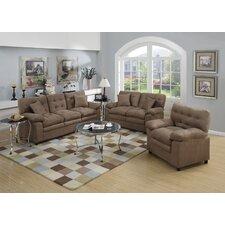 Kingsport 3 Piece Living Room Set  by Red Barrel Studio®