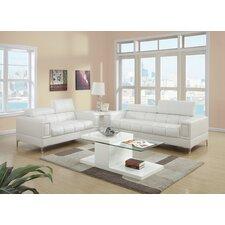 Lydia 2 Piece Sofa and Loveseat Set