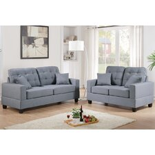 Tracton Sofa and Loveseat Set  by Andover Mills®