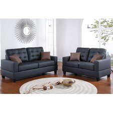 Tracton 2 Piece Sofa and Loveseat Set  by Andover Mills®