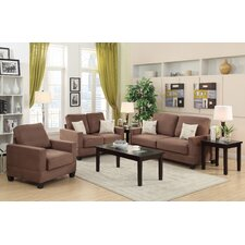 Vanderbilt 3 Piece Sofa and Loveseat with Chair Set  by Andover Mills®
