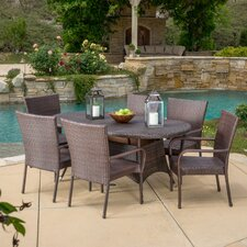 Barney 7 Piece Dining Set
