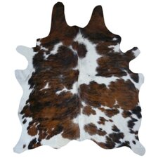 Paladin Natural Cowhide Tricolor Area Rug