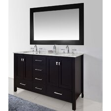 Ankney 60 Double Bathroom Vanity Set with Mirror by Brayden Studio