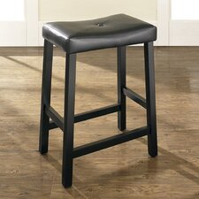 "Lottie 24"" Bar Stools with Cushion (Set of 2)"