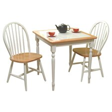 Esmeralda 3 Piece Dining Set