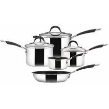 Momentum 5 Piece Non-Stick Stainless Steel Cookware Set