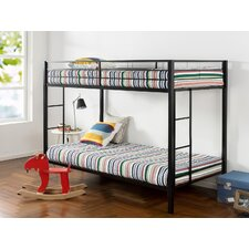 Destini Classic Twin Bunk Bed with Dual Ladder