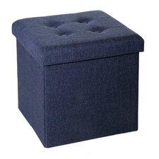 Zosia Tufted Foldable Storage Cube Ottoman