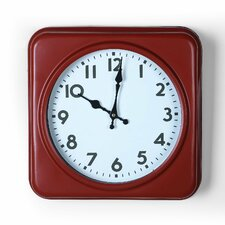 Square Iron Wall Clock