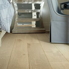 "Scottsmoor Oak 7.5"" Engineered White Oak Hardwood Flooring in White"