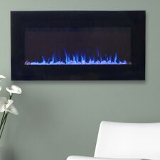 Arlo LED Wall Mount Electric Fireplace
