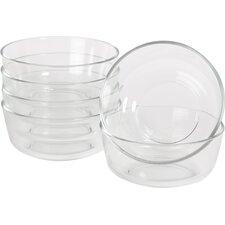 Wayfair Basics 24 oz. Glass Bowls (Set of 6)