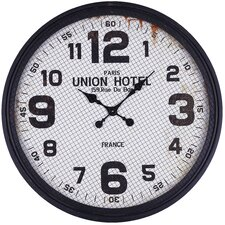 """Oversized MDF 30.5"""" Wall Clock with Iron"""