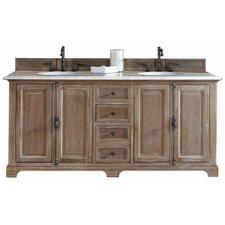 """Belhaven 72"""" Double Cabinet Vanity Base"""
