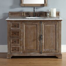 Belhaven 48 Single Driftwood Bathroom Vanity Set by Darby Home Co
