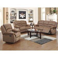 Maxine 3 Piece Recliner Sofa Set  by Red Barrel Studio®
