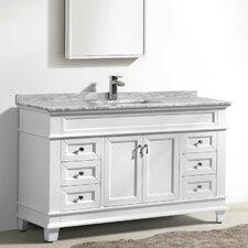 Fayer 59 Single Bathroom Vanity Set by Morenobath