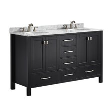 "Newtown 60"" Double Vanity Set"