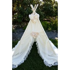 Isabella with Floral Topper Combo Play Teepee