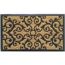 Coir and Rubber Indoor/Outdoor Non-Slip Doormat