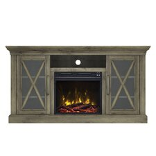 "Fischer 54"" TV Stand with Electric Fireplace"