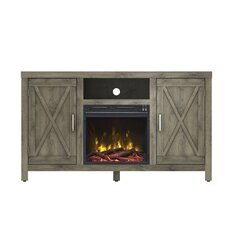 "Dodson 53"" TV Stand with Electric Fireplace"