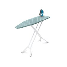 Homz SureFoot 4-Leg Ironing Board with Buttercup Cover
