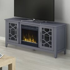 """Colton 54"""" TV Stand with Electric Fireplace"""
