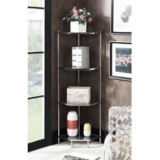 Tressie 4 Tier 51 Corner Unit Bookcase by Orren Ellis