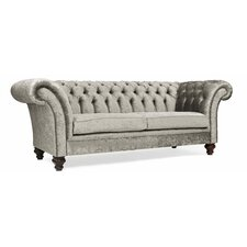 Milano Crush Velvet Handmade 3 Seater Chesterfield Sofa