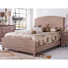Driftwood Woven Panel Bed