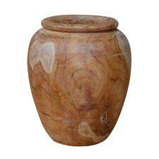Teak Wood Table Vase