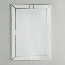 Antonio Rectangle Beveled Wall Mirror