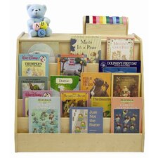 5 Compartment Book Display