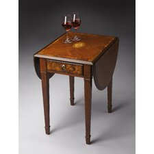 Masterpiece Glenview Pembroke End Table by Butler