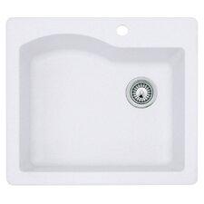"""25"""" x 22"""" Undermount/Drop-In Kitchen Sink"""