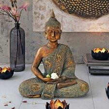 Dekofigur Sitzender Buddha
