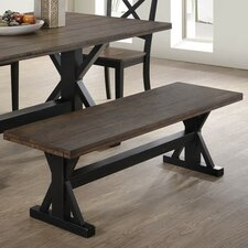 Smyrna Wood Dining Bench by Simmons Casegoods by Gracie Oaks