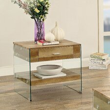 Destanee Contemporary End Table by Orren Ellis