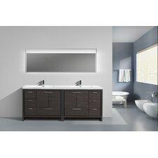 Roselle 83 Free Standing Modern Bathroom Vanity