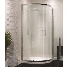 90cm W x 90cm D x 185cm H Quadrant Sliding Door Shower Enclosure