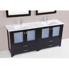 Lyn Modern 72 Double Bathroom Vanity Set by Latitude Run