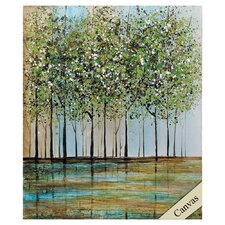 Green Forest I Painting on Canvas
