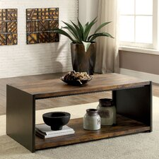 Bourget Transitional Coffee Table by 17 Stories
