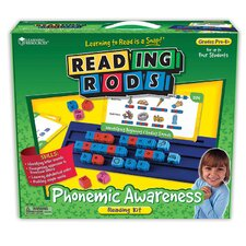 Reading Rods Phonemic Awareness Kit Letters