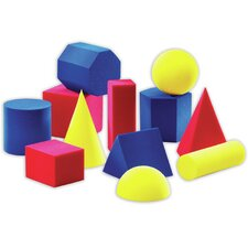 12 Piece Everyday Shapes Activity  Set